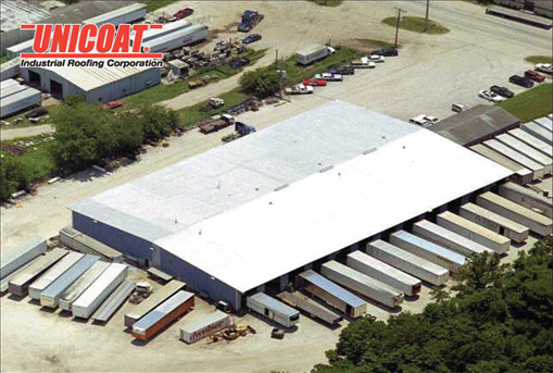 Unicoat Industrial Roofing Corporation Project Profiles